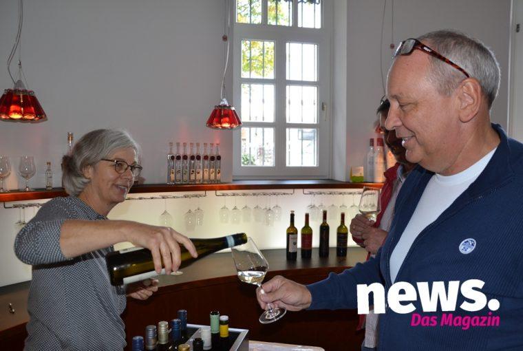 Weinverkostung beim Weinlager Barkhausen