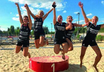 Mindener Beachhandballerinnen triumphieren bei Meisterschaft in der Hauptstadt
