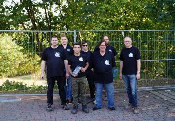 Das Team der Porta-Pyros wird in der Region immer bekannter