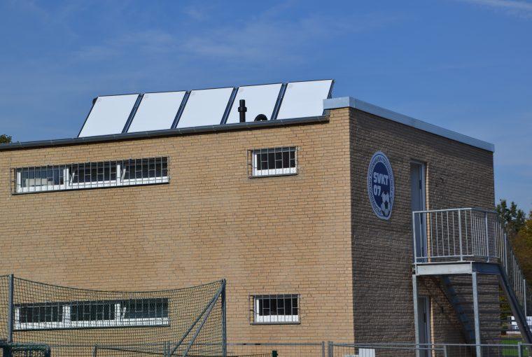 Neues Umkleidegebäude für SV Kutenhausen-Todtenhausen 07
