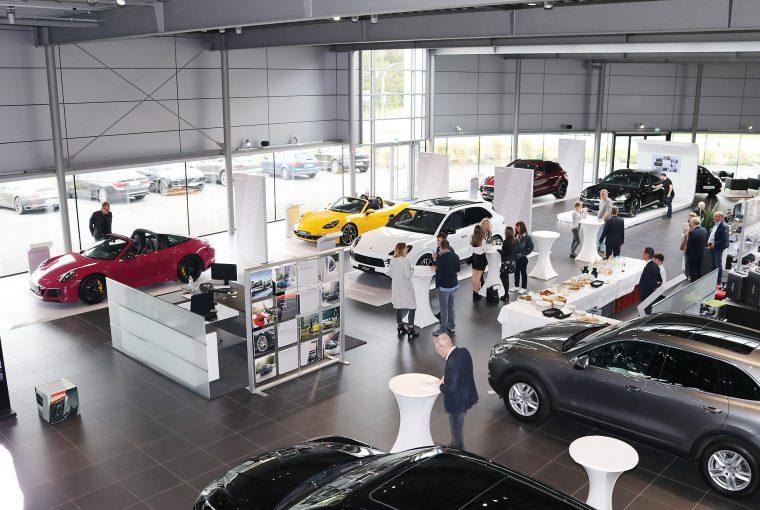 Der Verkaufsraum in Bielefeld
