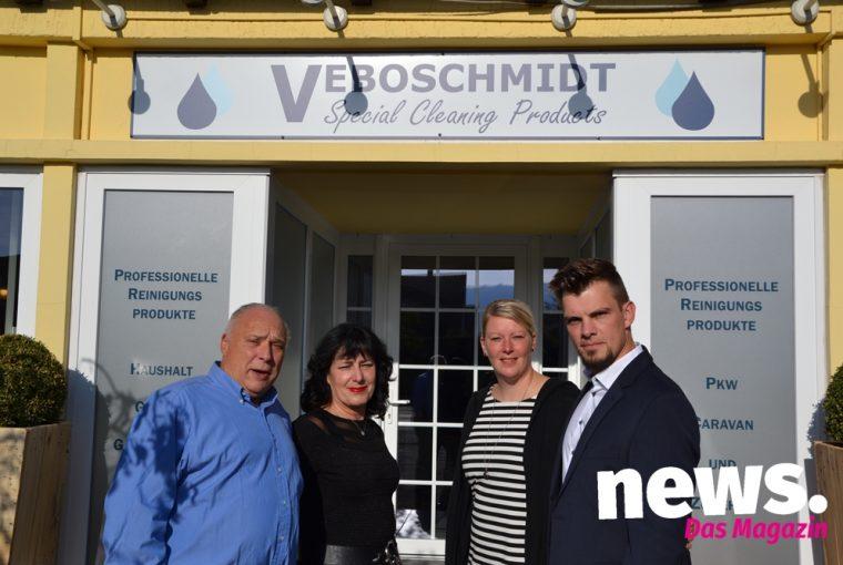 Eröffnung des Fabrikverkaufes von Veboschmidt in Minden
