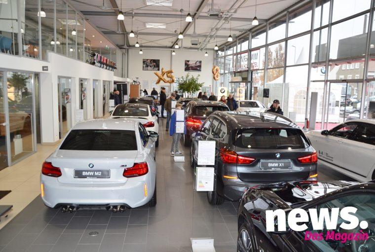 Vorstellung BMW X5 und 8er bei B & K Bad Oeynhausen