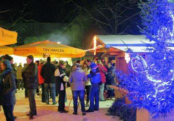 Weihnachtsdorf Hahlen