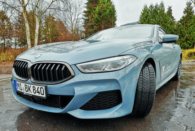 Autotest: Der BMW 840d xDrive