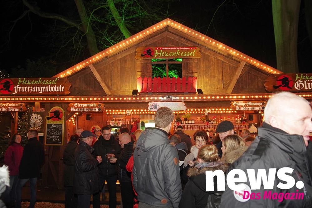 Bad Oeynhausen Weihnachtsmarkt.Weihnachtsmarkt In Bad Oeynhausen Lockt Mit Der Eisbahn News Das