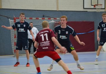 Handball-Silvester-Turnier von LIT Tribe Germania in Hille-Holzhausen