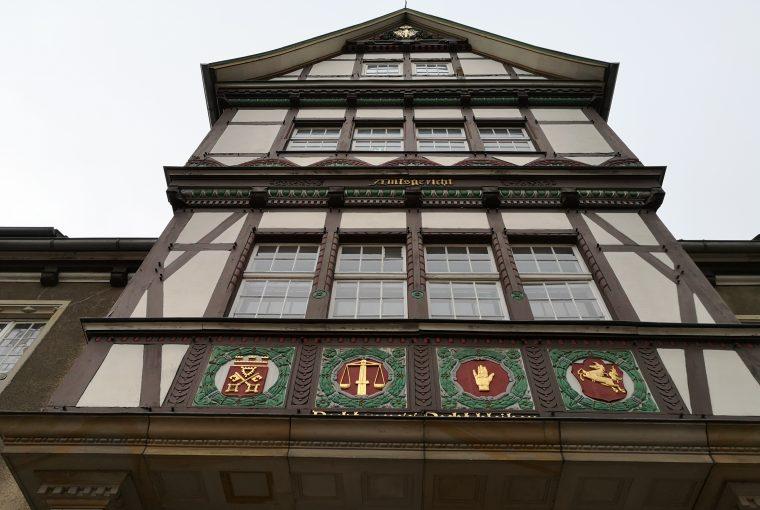 Mehdis Restaurant und Bar im Alten Amtsgericht von Petershagen.