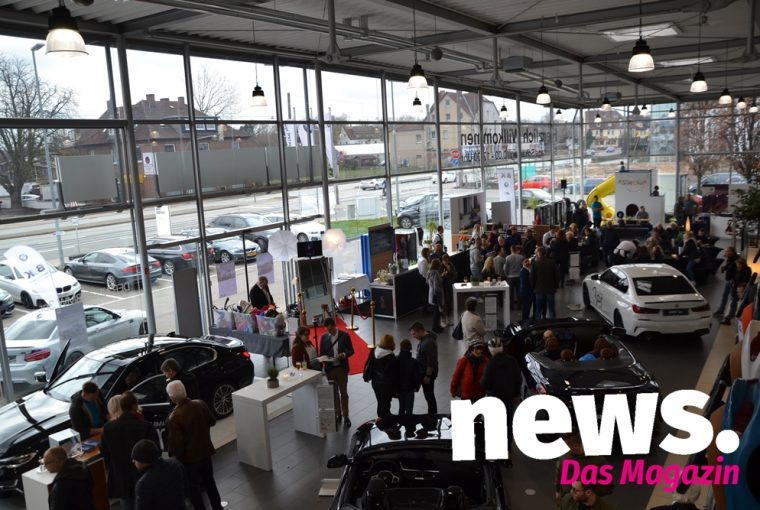 Premiere von den neuen BMW 3er, Z4 und 8er Cabrio im Autohaus B & K in Bad Oeynhausen am 9.3. Fotos Ernstmeyer