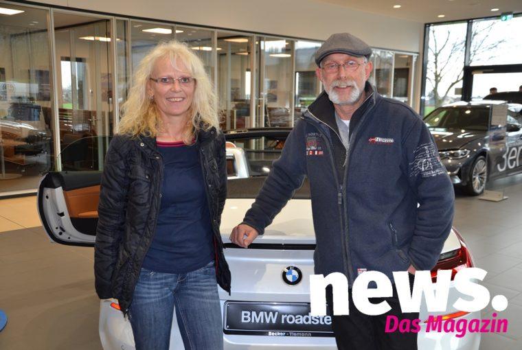 Vorstellung vom BMW 3er und Z4 bei Becker-Tiemann in Minden