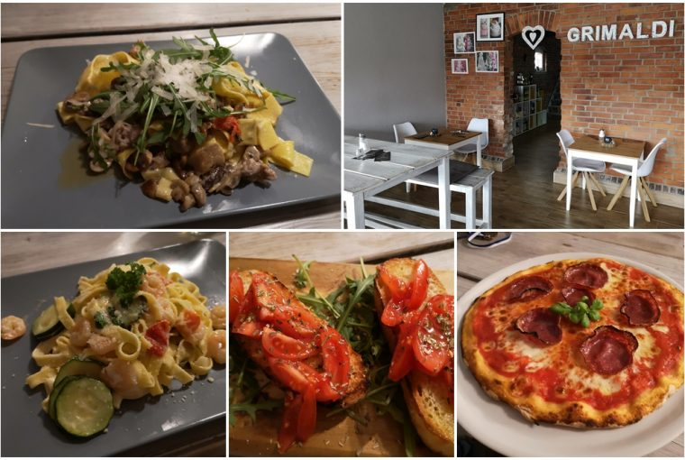Das Grimaldi ist Konditorei, Bistro und Restaurant.