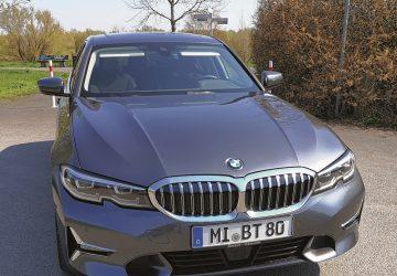 Heute im Autotest: Der neue BMW 3er