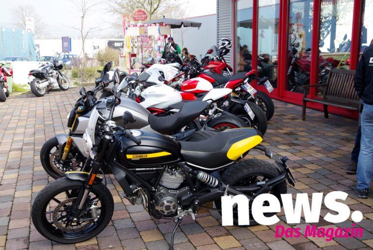 Saisonstart bei Ducati Melle 2019