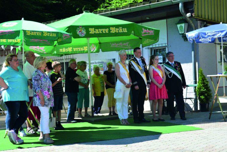 Volksschützenfest in Porta Westfalica-Barkhausen