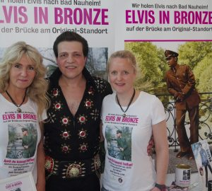 "Elvis in Bronze"" in Bad Nauheim"