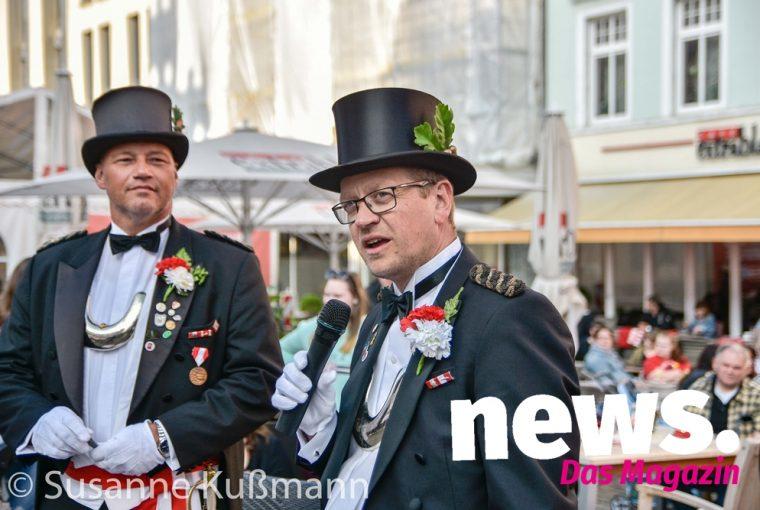 Tanz in den Mai der Junggesellen-Kompanie im Victoria-Hotel Minden -Fotos-S.Kussmann