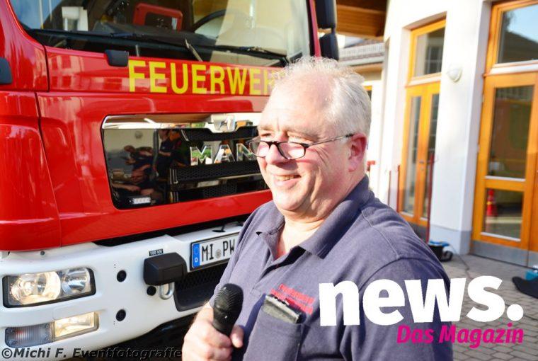 Übung der Freiwillige Feuerwehr Eisbergen 2019