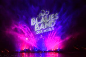 Blaues Band Der Weser Minden