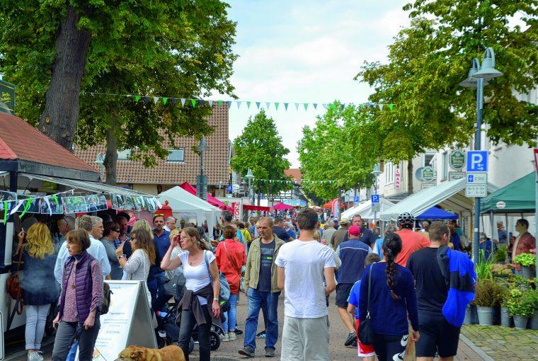 Altstadtfest in Petershagen 2019