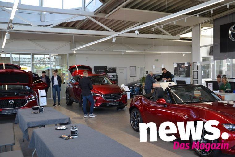 Neuvorstellung des Mazda X-30 bei Piper Automobile in Minden 2019