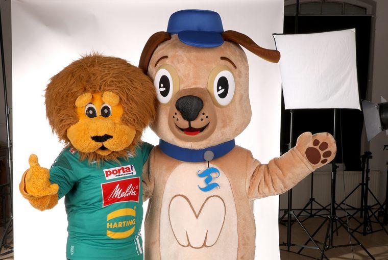 GWD Löwe mit MT Mops Toni
