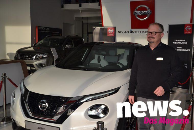 Vorpremiere des neuen Nissan Juke 2019
