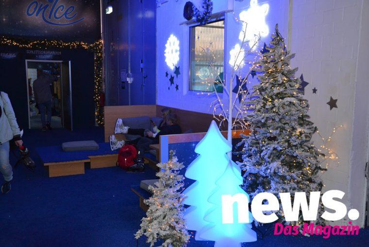 Weihnachtsstimmung bei Porta on Ice