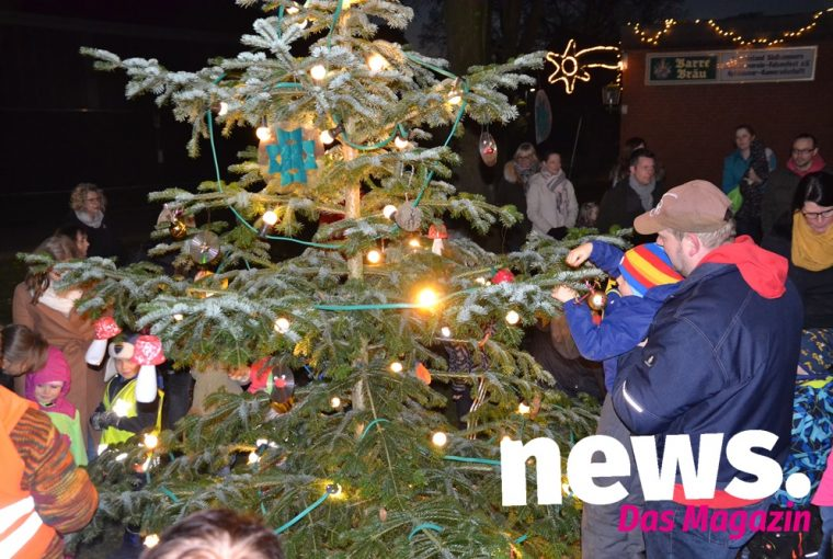 kleinster Weihnachtsmarkt in Hille-Südhemmern 2019
