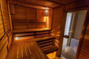Sauna Februar