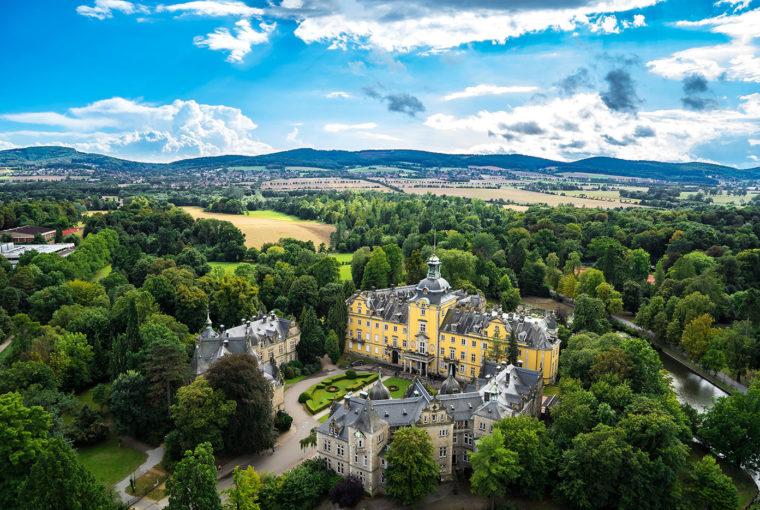 Schloss Bückeburg von oben