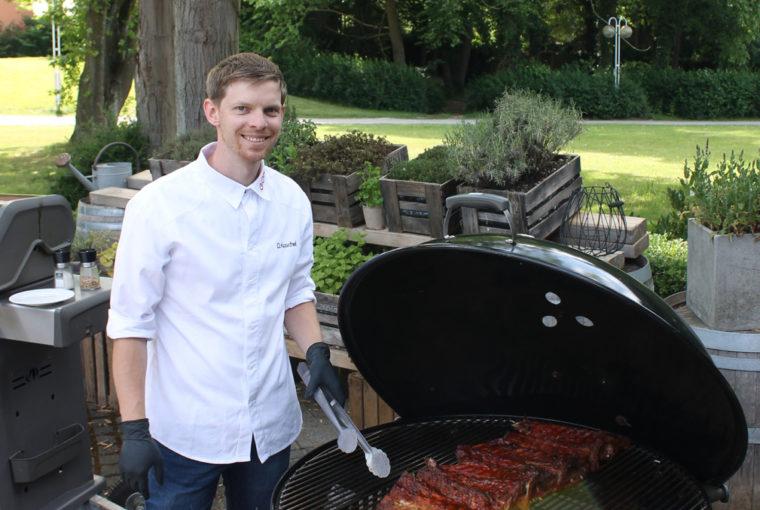 Das GOP bietet ab sofort BBQ Pakete an. Dirk Koschel Chefkoch