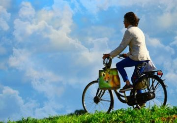 Radfahren im news-Land