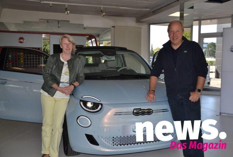 Vorstellung Fiat 500 Hybrid im Autohaus Kruse