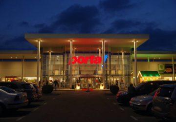 Glamour-Shopping bei Porta Möbel 2020