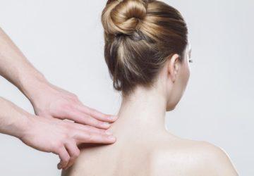 Rücken Massage