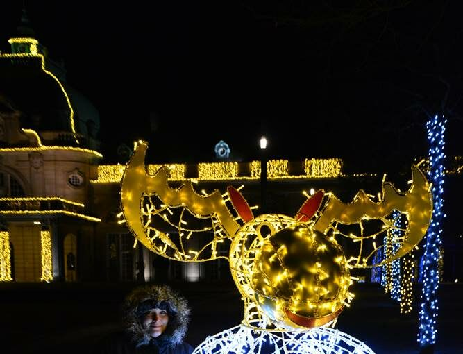 Weihnachtliche Lichter Bad Oeynhausen 2020