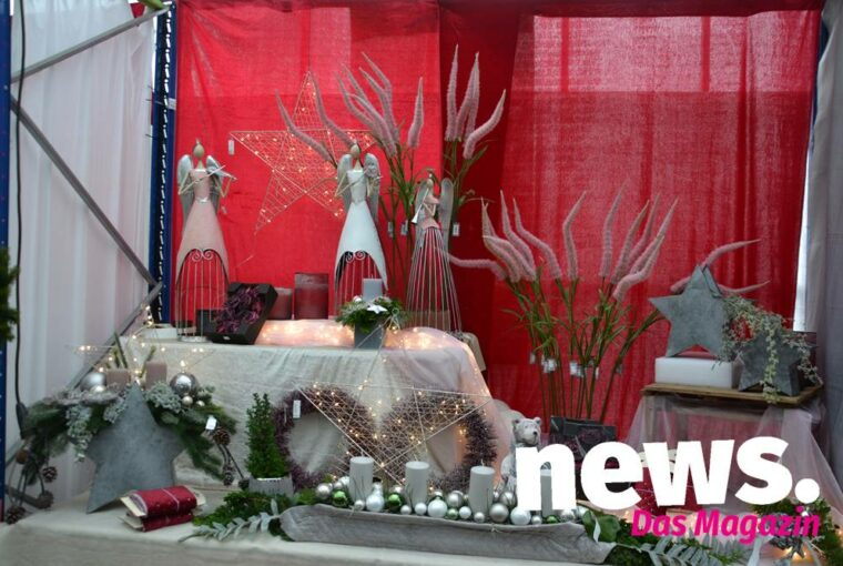 Weihnachts-Ausstellung bei Grätz Gartenpark in Hüllhorst