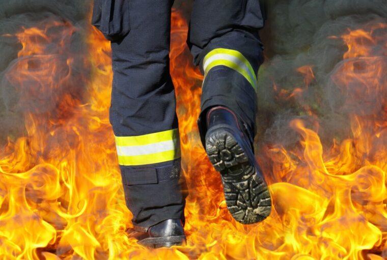 Brand und Wasserschaden